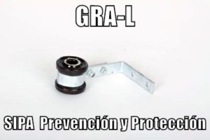 www.pararrayos-sipa.com.ar Grampa-L-con-aislador-Pared