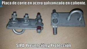 www.pararrayos-sipa.com.ar Placa de Corte