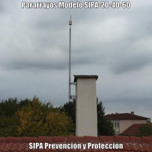 www.pararrayos-sipa.com.ar  SIPA-20-40-60 Instalado-