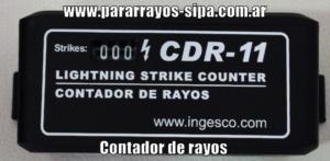 www.pararrayos-sipa.com.ar Contador de rayos CDR-11