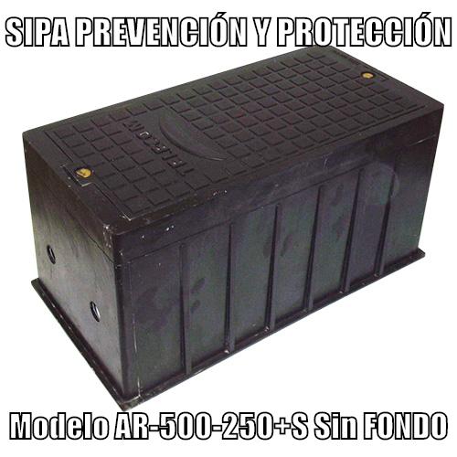 www.pararrayos-sipa.com.ar Arqueta Modelo AR-500-250+S